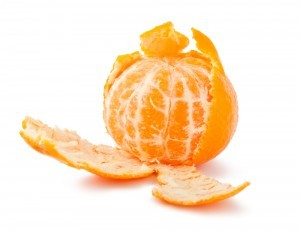 orange peeled